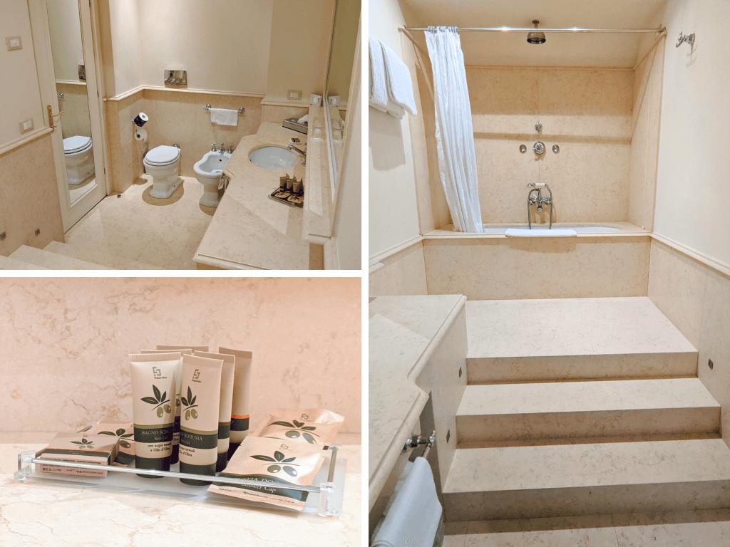 Junior suite Duplex Bathroom