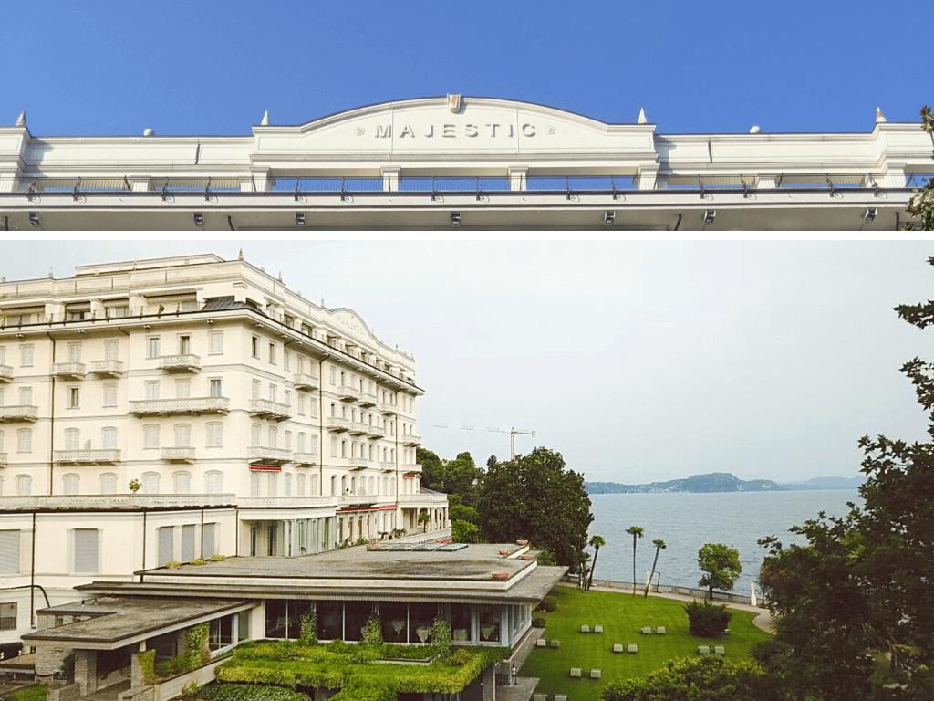 Grand Hotel Majestic Drone View