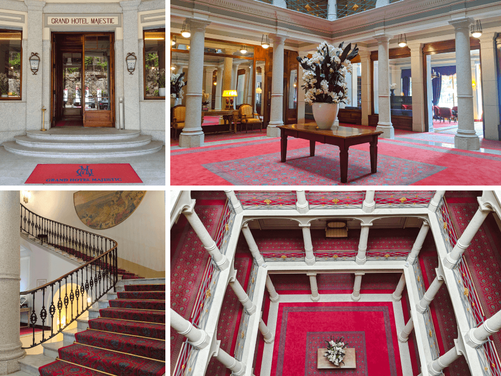 Grand Hotel Majestic reception hall