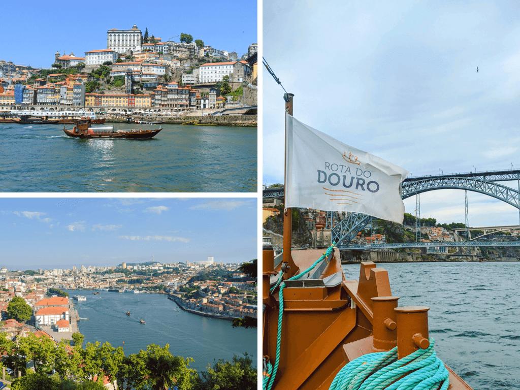 Cruising Douro River in Porto