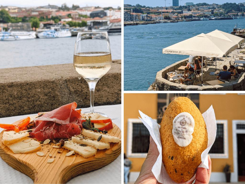 Tasting Porto Cuisine by Douro River in Porto, Portugal