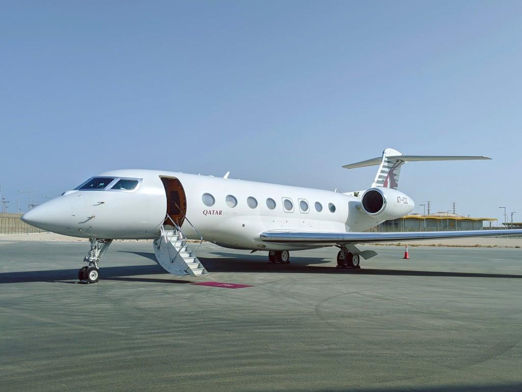 Qatar Executive's Gulfstream G650ER