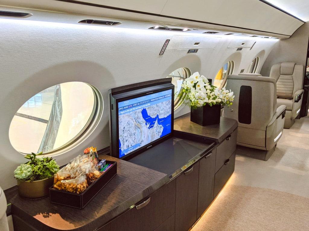 Gulfstream G700 Demo Interiors