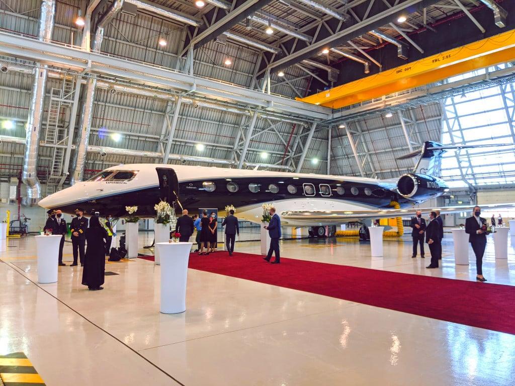Gulfstream G700 Jet Launch Event